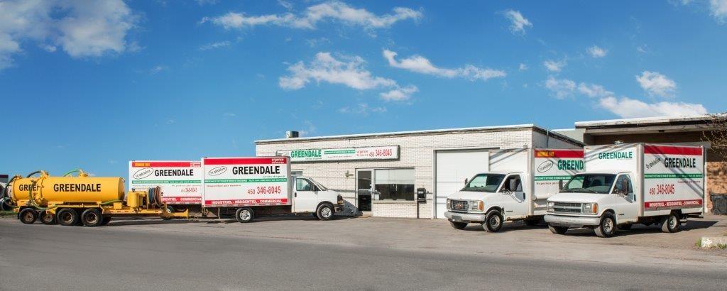 Greendale Service d'égouts à Saint-Jean-sur-Richelieu